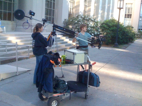 Rental cart from Boston Camera