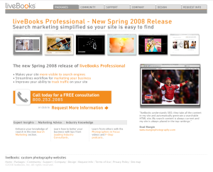 Livebooks.com site