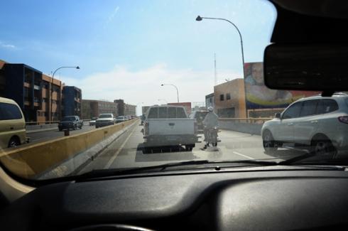 Traffic in Santo Domingo