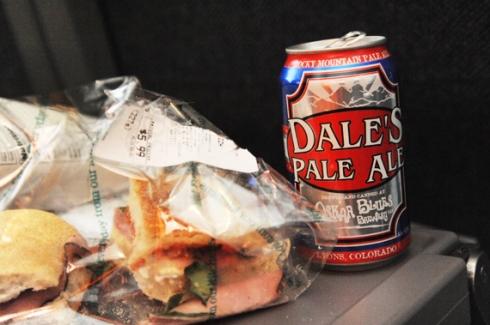 Train food....