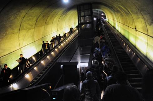 D.C. Metro Station...