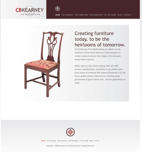CB Kearney Fine Woodworking