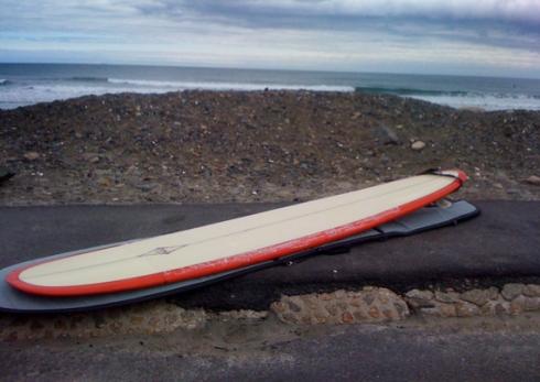 Long board at Nantasket