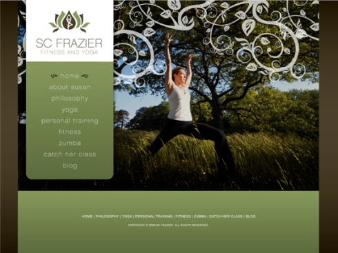 scfrazier.com, Yoga and Fitness Trainer